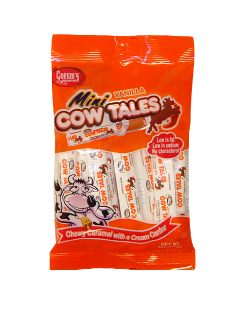 4oz Vanilla Cow Tales Minis Bag