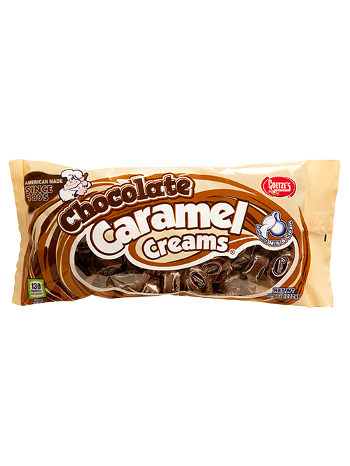 9.6oz Chocolate Caramel Creams Bag