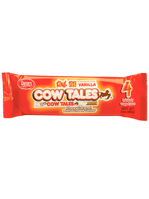 4 Pack Vanilla Cow Tales