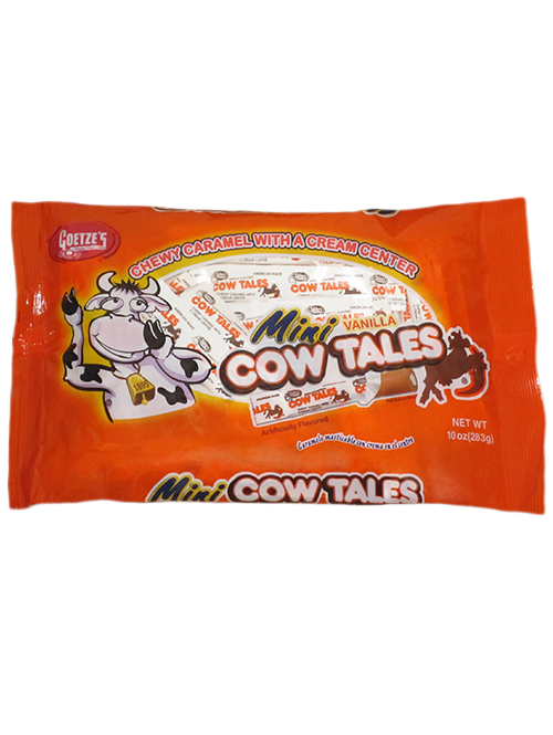 10oz Vanilla Cow Tales Minis Bag