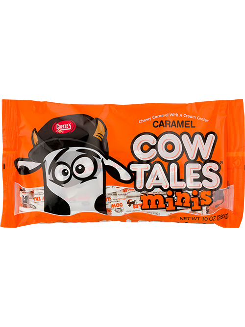 Original Caramel Cow Tales Minis 10oz. bag