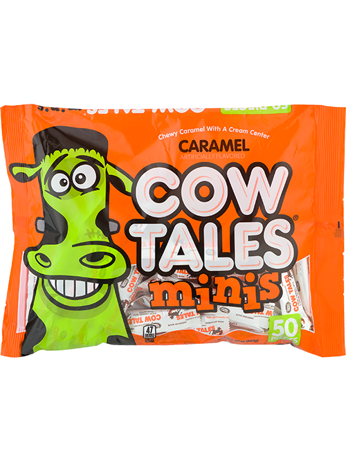 Original Caramel Cow Tales Minis 20oz. Halloween bag