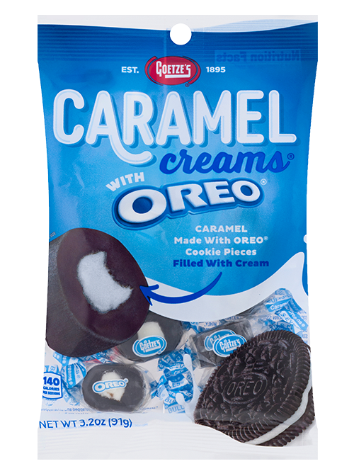Oreo Caramel Creams 3.2oz. Peg Bag