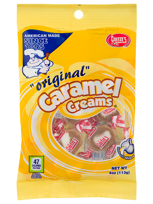 Original Vanilla Caramel Creams 4 oz. Peg Bag