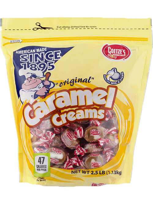 Original Vanilla Caramel Creams 2.5lb. Bag