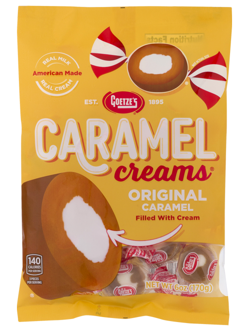 Original Vanilla Caramel Creams 6oz. Peg Bag